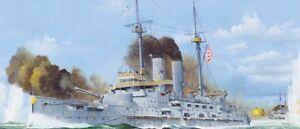 Merit 62004 - 1/200 Japanese Battleship Mikasa 1905 - Neu