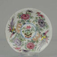 Antique 19/20c Lovely Japanese Porcelain Polychrome Eggshell Style Porce...