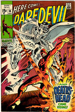 DAREDEVIL #56 - SEPTEMBER 1969 - 15¢ SILVER AGE CLASSIC BY STAN LEE & GENE COLAN