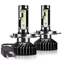 2x 200W 3000LM H4 LED Lampadine del Faro Kit Bulbi Luci Headlights 6500K Xenon