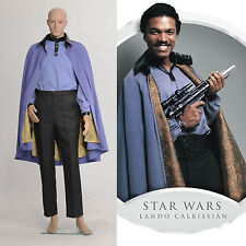 Star Wars The Empire Strikes Back Return of the Jedi Lando Costume Outfit Suits