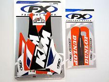 Factory Effex EVO 13 Graphics Forks KTM SX SXF 125 525 01 02 EXC 03 04 MXC 200