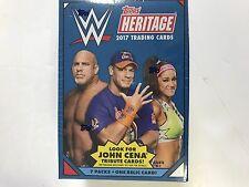 2017 TOPPS WWE HERITAGE BLASTER BOX