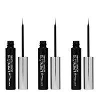 3pz MAYBELLINE LINE REFINE Liquid Eyeliner Eyeliner Liquido noir/nero NUOVO