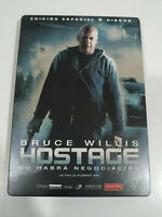 Hostage Bruce Willis Steelbook - 2 X DVD + Extra Spagnolo English - Regione 2