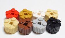 Lego 92947 Stein 2x2 Rund Gitter Groove Auswahl Farbe Packung von 10