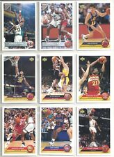 1992-93 Upper Deck McDonalds 50-card Basketball Set Michael Jordan John Stockton