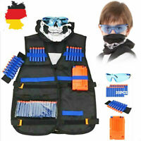 Kinder Taktisch Vest Battle Weste Kit für Nerf Guns N-Strike Elite Serie-Strike*