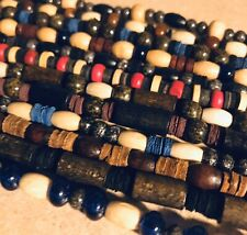 12 Pc Lot Wood Bead Necklaces Wholesale Jewelry
