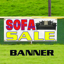 Sofa Sale Advertising Vinyl Banner Sign Furniture Leather Couch Retail Store