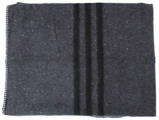 NEW BIVOUAC BLANKET MILITARY ARMY ANTHRACITE GREY APPROX 200 X 150 cm 600G M2