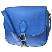 Auth LOUIS VUITTON Saint Cloud GM Shoulder Bag Epi Leather BE M52195 37MC956