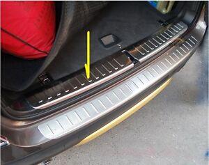 Edelstahl Ladekantenschutz innen für BMW X3 F25 Bj 2009