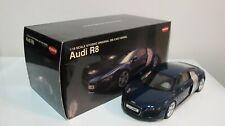 1:18 KYOSHO 2006 AUDI R8 COUPE DARK BLUE DIECAST CARS