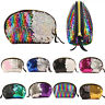 Sequins Cosmetic Makeup Small Coin Pouch Storage Purse Bag Handbag Clutch Case