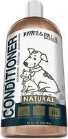Dog & Cat Conditioner - All Natural for Pets - Dry Skin Moisurizer Detangler