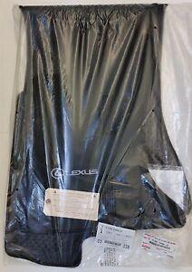 LEXUS OEM FACTORY 4pc CARPET FLOOR MAT SET 2006-2013 IS250 IS350 AWD (BLACK)