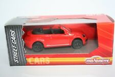 MAJORETTE 212052790-Cars-VW New Beetle-Rouge (environ 6-7 cm) - NEUF