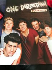 One Direction TOUR 2013 program BOOK  PHOTOS Harry Styles w Fold out 1D