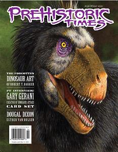 NEW #136 Issue Prehistoric Times dinosaur magazine PT Winter 2021 LATEST ISSUE