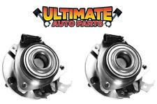 Front Wheel Bearing Hubs (4x4 or AWD) Pair for 99 1999 Chevy S10 Blazer