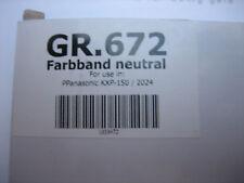 5xNoName Ink Ribbon Ribbon Gr.672 Nylon KX-P150 KXP-P2123 P2024 Group 519330