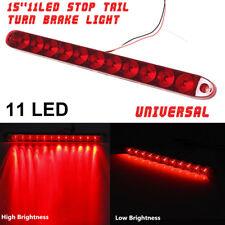 """15"""" 12V 11 LED Truck Trailer ABS Car Tail Light Turn Stop Brake Light Waterproof"""
