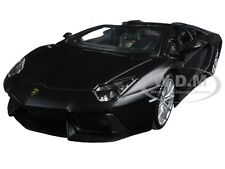 LAMBORGHINI AVENTADOR LP 700-4 ROADSTER MATT BLACK 1/24 BY MAISTO 31504