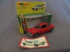 637F Politoys E 36 Alfasud Coupé Rojo 1:43