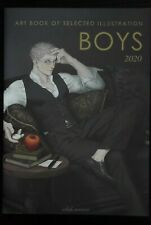 japan 55) Art Book of Selected Illustration: BOYS 2020 (Art Book)