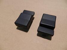 2x Deckel Abdeckung Instrumentenschalter schwarz  Omega A ORIGINAL OPEL 1234760