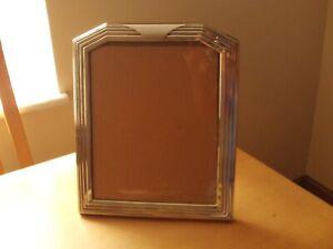 Vintage Large Silver Plated Photo Frame
