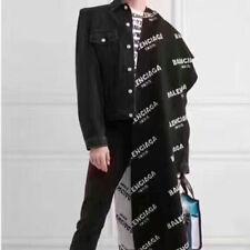 2017 New Men Women Balenciaga² Mink Fur Long Scarf Fashion Shawl Wrap Scarves
