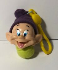 """Dopey"" from Snow White & the 7 Dwarfs 2001 McDonalds Happy Meal Toy Clip #2"