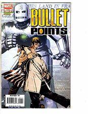 5 Marvel Comics Bullet Points 1 Spider-Man 1 Zombie 1 Sentry 8 X-Men 6 J235