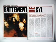 COUPURE DE PRESSE-CLIPPING :  STRAPPING YOUNG LAD [4pages]03/2003 Devin Townsend