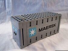 Lego Train City Creator Maersk Gray Container 10219 10233 10194 (treno)