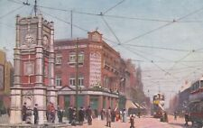 POSTCARD THE BROADWAY, ILFORD, ESSEX to THE HOSPITAL WINCANTON, SOMERSET 1905