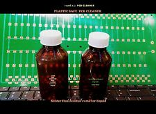 PCB touch up cleaner Flux remove Soldering   pcb cleaner ( plastic safe ) 200ml