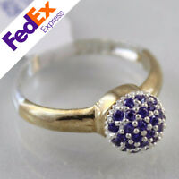 925 Sterling Silver Turkish Handmade Jewelry Amethyst Lady's Ring