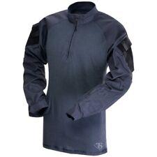 Tru Spec 2567005 Men's Navy Long Sleeve 1/4 Zip Combat Shirt - Size L/Regular