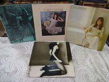 Carly Simon Vinyl Lp Lot ~ Hotcakes ~Anticipation ~ Self Titled ~ Playing Possum