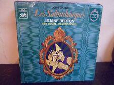 """LP 12"""" Louis GANNE - Les Saltimbanques - VG++/MINT - NEUF - PATHE  4 C 047-10842"""