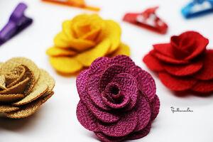 The Gentlemen Bar - MAGNETIC Lapel Wool Flower Rose Pin Tie Bar Bow Accessories