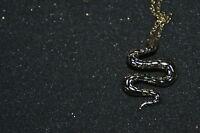 Dyrberg/Kern Halskette mit Anhänger Schlange