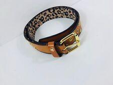 Betsey Johnson Belt Size Large Gold Heart Stud