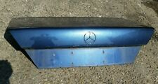 MERCEDES E CLASS W124 COUPE blue bootlid panel
