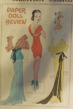 Blondie Sunday by Chic Young from 6/24/1934 Rare Paper Doll Full Page Size !