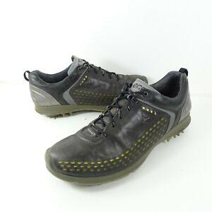 Ecco Biom G2 GTX Gore-Tex Golf Shoes Black Yak Leather Size 10-10.5 EU 44