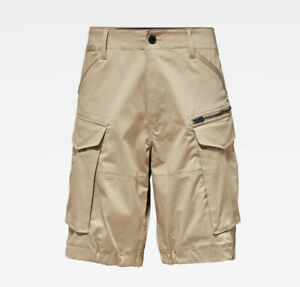 G-Star Raw Men's Dune Beige Rovic Relaxed Shorts $110